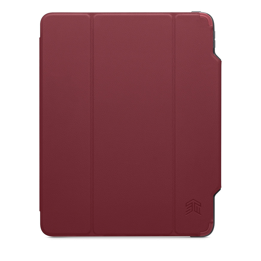 Apple Ipad Pro 12.9 4th Gen 2020 (A2069 A2232) Wallet Case Red